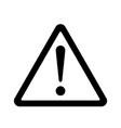 danger sign icon vector image vector image