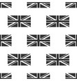 flag of great britain icon seamless pattern vector image vector image