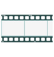 image of film strip vector image vector image