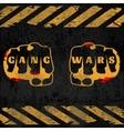 Street Gang Wars Poster vector image