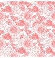 Trendy Seamless Floral Pattern vector image vector image