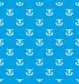 wild west pattern seamless blue vector image vector image