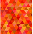 Abstract regular triangle tile mosaic background vector image