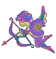 Colorful Cupid 2 vector image