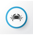 crab icon symbol premium quality isolated cancer vector image vector image