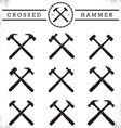 Crossed Hammer