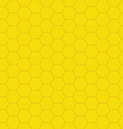 Honeycomb background seamless vector image vector image