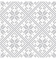 knitted gray seamless pattern vector image