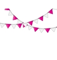 Party Flag Background vector image vector image