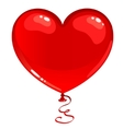 Red balloon heart
