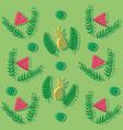 summer wallpaper pattern vector image vector image