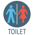 Wc signs vector image vector image