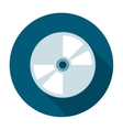 Compact disk icon flat vector image