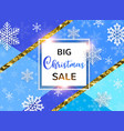 abstract background for christmas sale vector image vector image