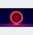 abstract virus cell 3d microbe virus vector image