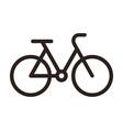 Bike symbol vector image