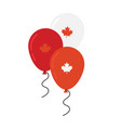 canada day celebration independence day vector image