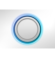 Circle blue vector image