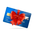 Credit Card Present vector image