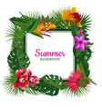 frame with place for text surrounded vector image vector image