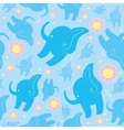 funny elephants vector image vector image