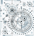 industrial and engineering background future vector image vector image