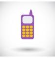 Phone single icon vector image vector image