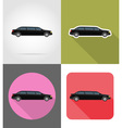 transport flat icons 44 vector image