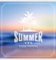 summer label vector image