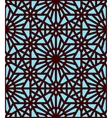 abstract geometric ethnic ornament vector image vector image
