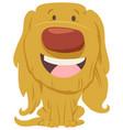 cute dog cartoon character vector image vector image