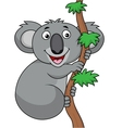 Funny Koala cartoon vector image