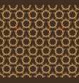 seamless pattern decorative symmetries ornament vector image vector image