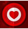 Valentine Target Half vector image vector image