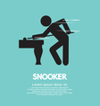 Snooker Player vector image