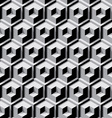 dimensional cubes vector image