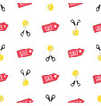 discount background pattern vector image