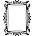 frame rectangular vector image vector image
