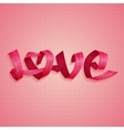 Love Ribbons vector image vector image