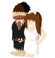Paleo wedding vector image
