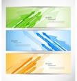 Set of banners with arrows vector image vector image
