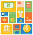 Icon Finance Banking vector image