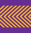 abstract purple yellow arrows pattern vector image
