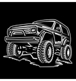 car off-road 4x4 suv trophy truck vector image vector image