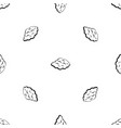 small cloud pattern seamless black vector image vector image