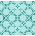 turquiose seamless pattern vector image vector image