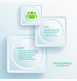web business infographic design elements vector image vector image