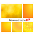 blur summer abstract background vector image