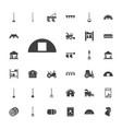 33 farming icons vector image vector image