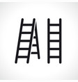 ladder symbol icon design vector image